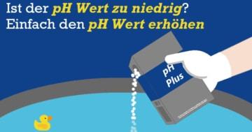 Mit Pool Ph Plus den pH Wert im Pool erhöhen