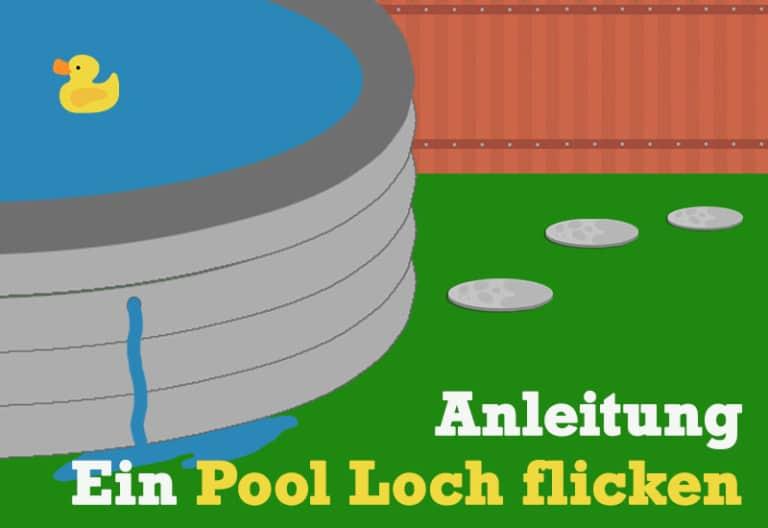 Anleitung zum Pool Flicken