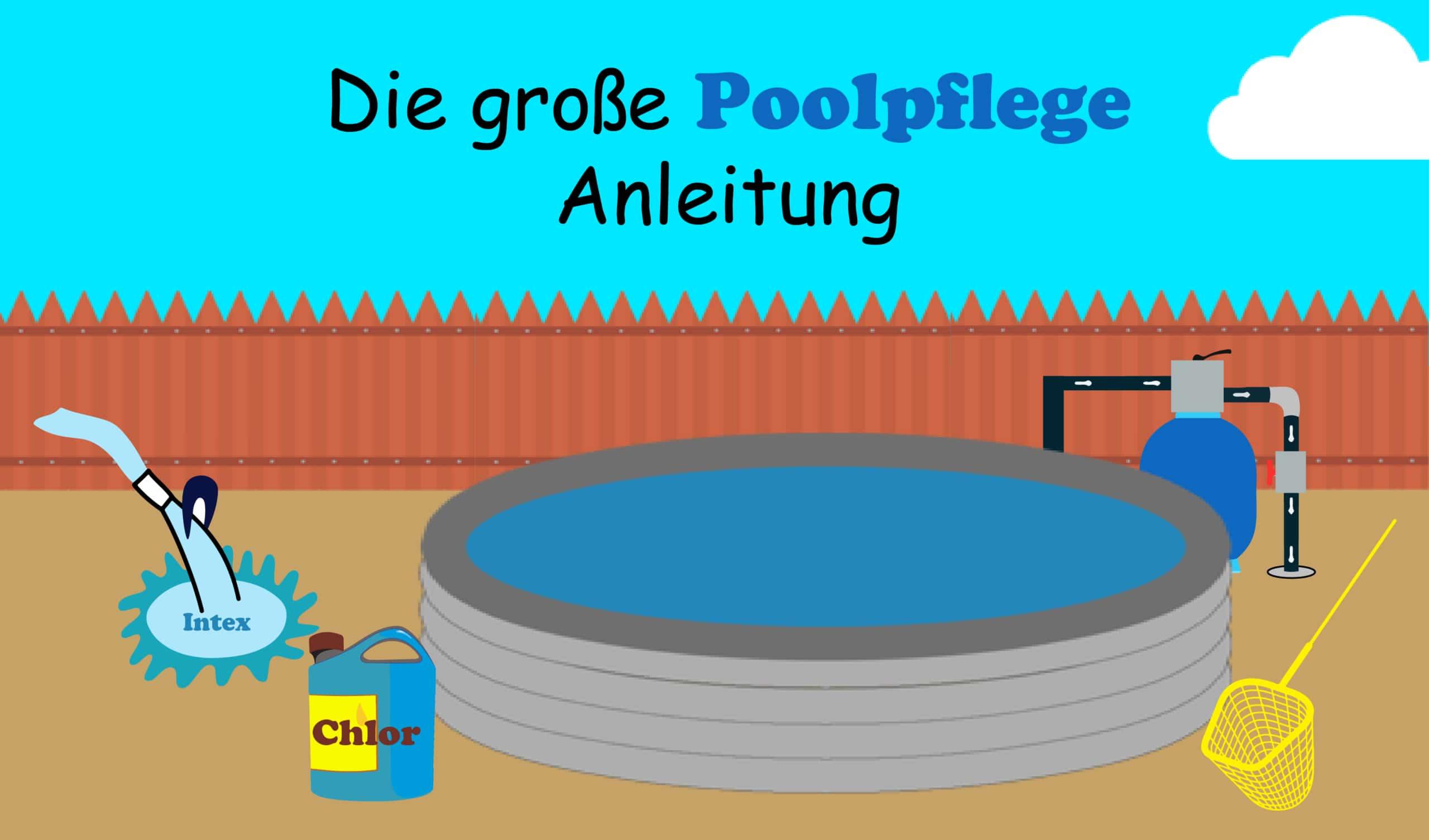 Milchig pool brunnenwasser Pool nach